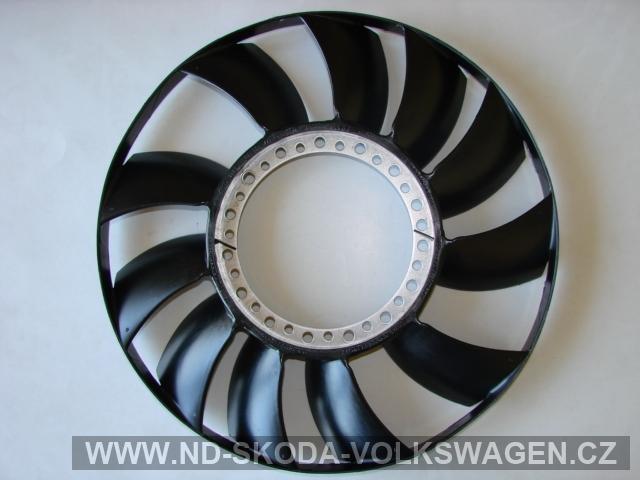 Vrtule ventilátoru (viskozni spojka) Passat B5 1997-2005  2,5 TDI
