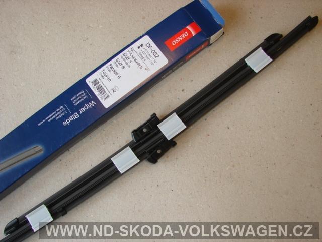STĚRAČE 475/600mm     DENSO  WIPER BLADE PASSAT B6  - 3C 2005>