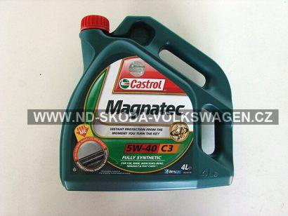 Motorový olej 5W-40 C3 Castrol Plná syntetika 4L