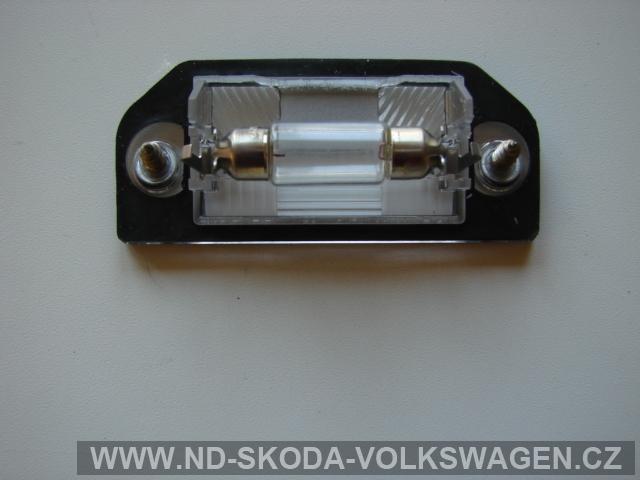 OSVĚTLENÍ spz včetně žárovky PASSAT B5 1997><2000  SEDAN + VARIANT
