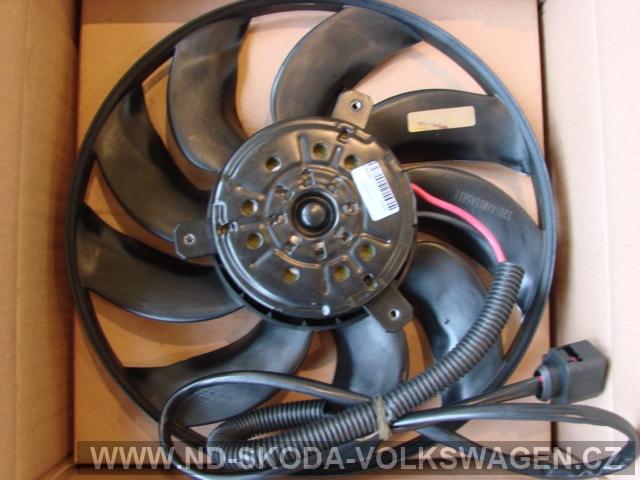 VENTILÁTOR CHLADIČE TRANSPORTÉR T5 2003-2010 450W/420mm