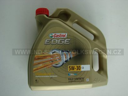 Motorový olej Castrol EDGE Titanium FST C3 5W-30, 4L  C3   VW 502.00/505.00/505.01