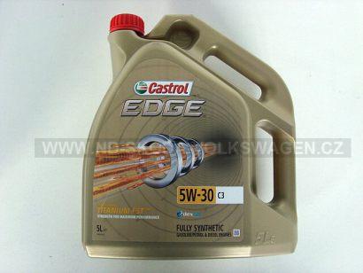MOTOROVÝ OLEJ CASTROL EDGE FST 5W-30 (5L) SPECIFIKACE VW: 502.00/505.00/505.01