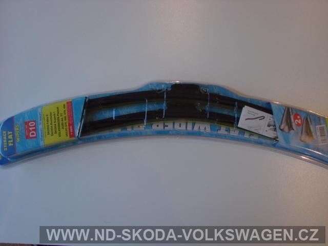 SADA STĚRAČŮ FLAT WIPERS  (530mmx530mm) AERO-lze namontovat i místo klasických SUPERB
