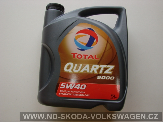 TOTAL QUARTZ 9000 5W-40/5L