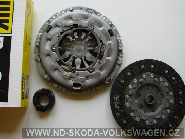 SPOJKA TRANSPORTER T5 2003> 228mm motory 1,9 TDI 62/63/77/75KW   AXB/AXC/BBR/BRS