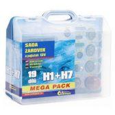 ŽÁROVKY SERVISNÍ BOX MEGA H1+H7+POJISTKY