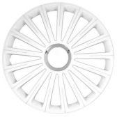 OZDOBNÉ KRYTY KOL (POKLICE) RADICAL PRO WHITE R15 (SADA 4KS)